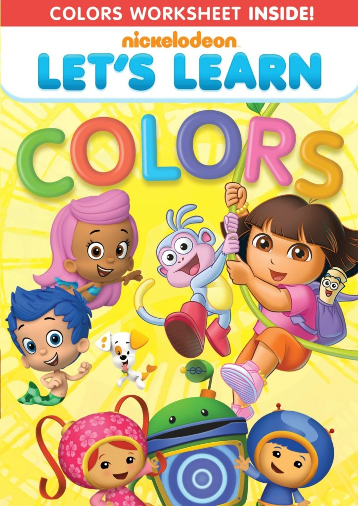 91b4XlZELbL. SL1500  724x1024  LET'S LEARN: COLORS DVD!