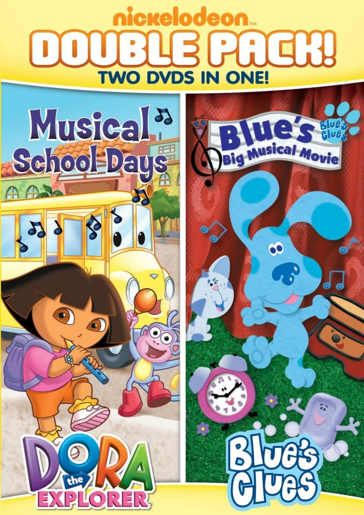 91m3kKm0YZL. SL1500  724x1024 Dora & Blues Clues Double Feature: Doras Musical School Days and Bigs Big Musical Movie!