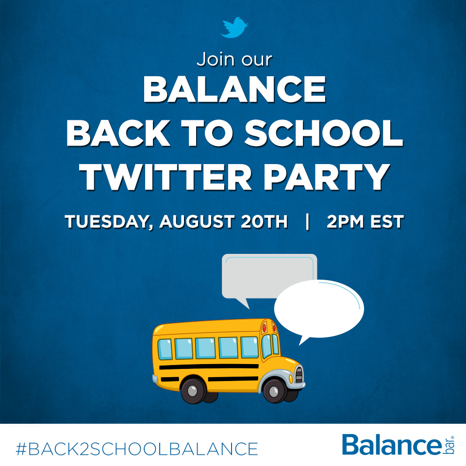 BacktoSchool Twitter Party SM Image Balance Bar Review/Giveaway and Balance Bar Twitter Party #Back2SchoolBalance 8/20 2 pm!