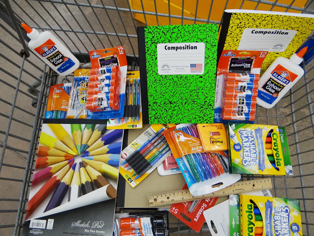 DSC02892 Donating School Supplies for the Elmers #BagItForward Champions for Kids Project! #cfk