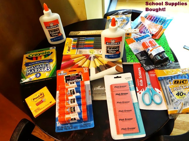 DSC029071 Donating School Supplies for the Elmers #BagItForward Champions for Kids Project! #cfk