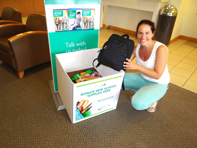 DSC02919 Donating School Supplies for the Elmers #BagItForward Champions for Kids Project! #cfk