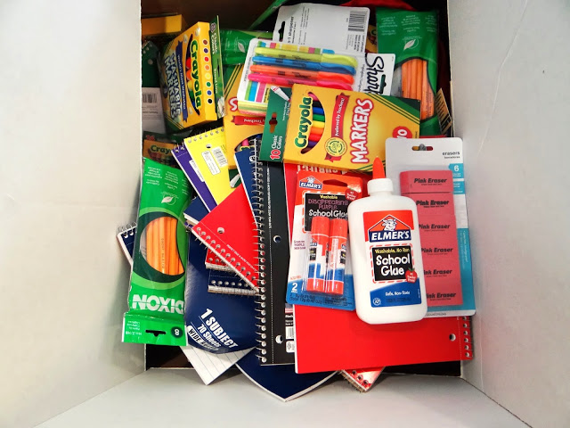 DSC02921 Donating School Supplies for the Elmers #BagItForward Champions for Kids Project! #cfk