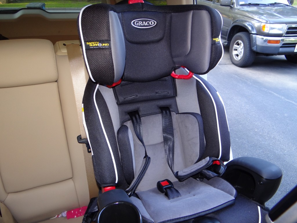 DSC03064 1024x768 Graco Nautilus 3 in 1 Car Seat Review Giveaway!