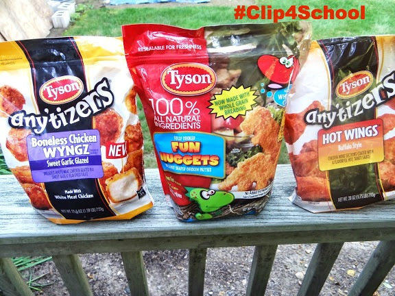 DSC03182 #ad I am Participating in the Tyson's Back to School Project A+ Program for my Daughters School! #Clip4School #cbias