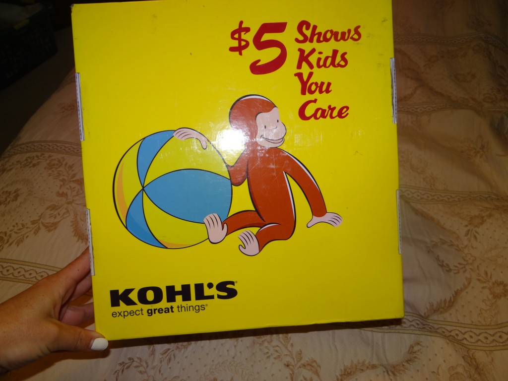 DSC03204 1024x768 Kohls Cares for Kids (Curious George) Review Giveaway!