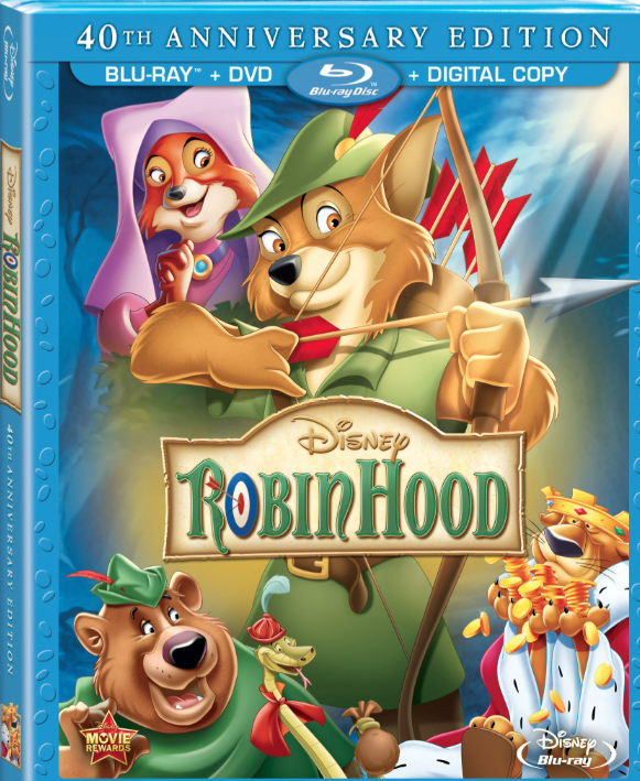 Screen Shot 2013 08 08 at 12.31.11 PM Disneys The Sword In The Stone, Robin Hood & Oliver and Company now available on DVD!