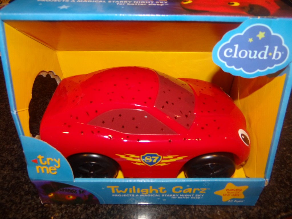 DSC03882 1024x768 Zane loves his Cloud B Twilight Carz! Review and Giveaway!