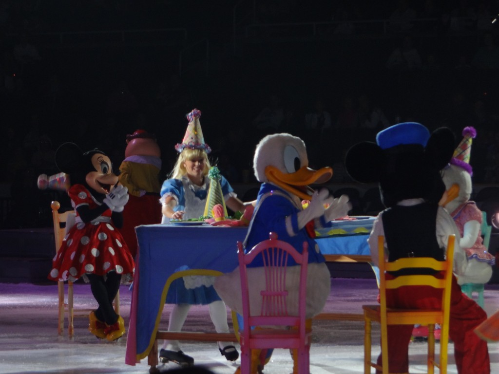 DSC04011 1024x768 We saw Disney on Ice: Lets Celebrate Tonight and LOVED it!!