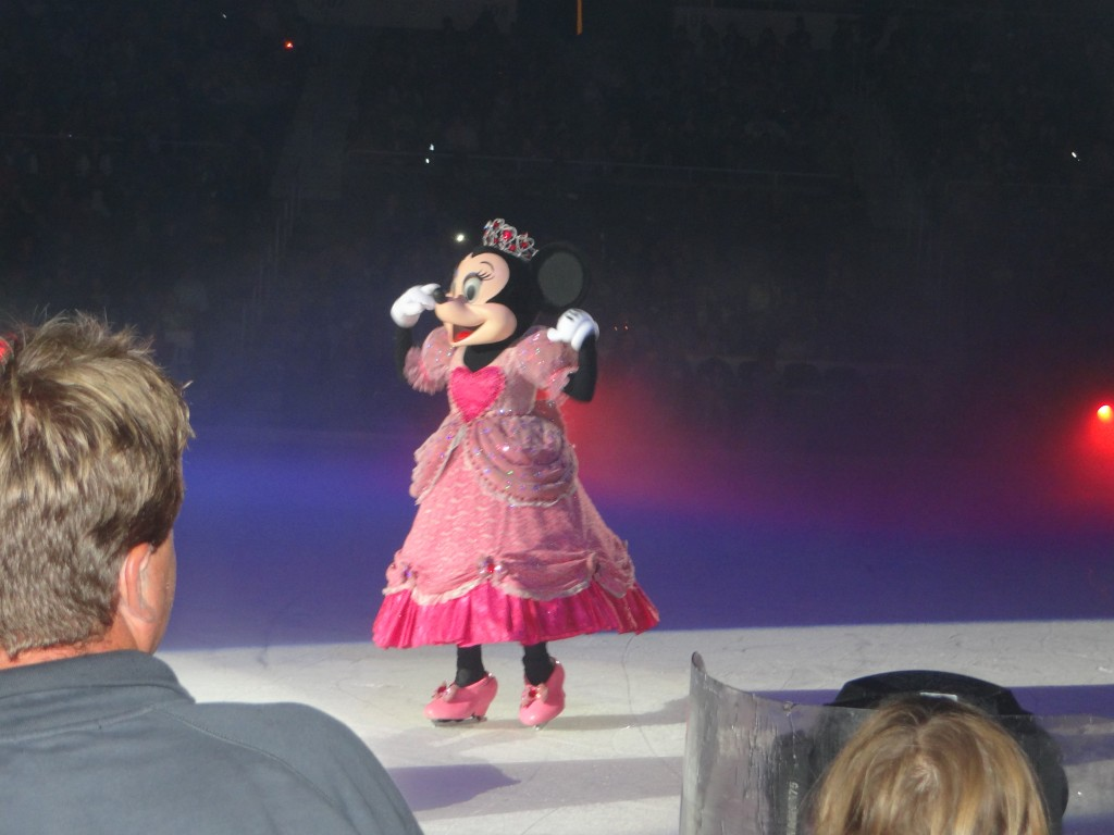 DSC04030 1024x768 We saw Disney on Ice: Lets Celebrate Tonight and LOVED it!!