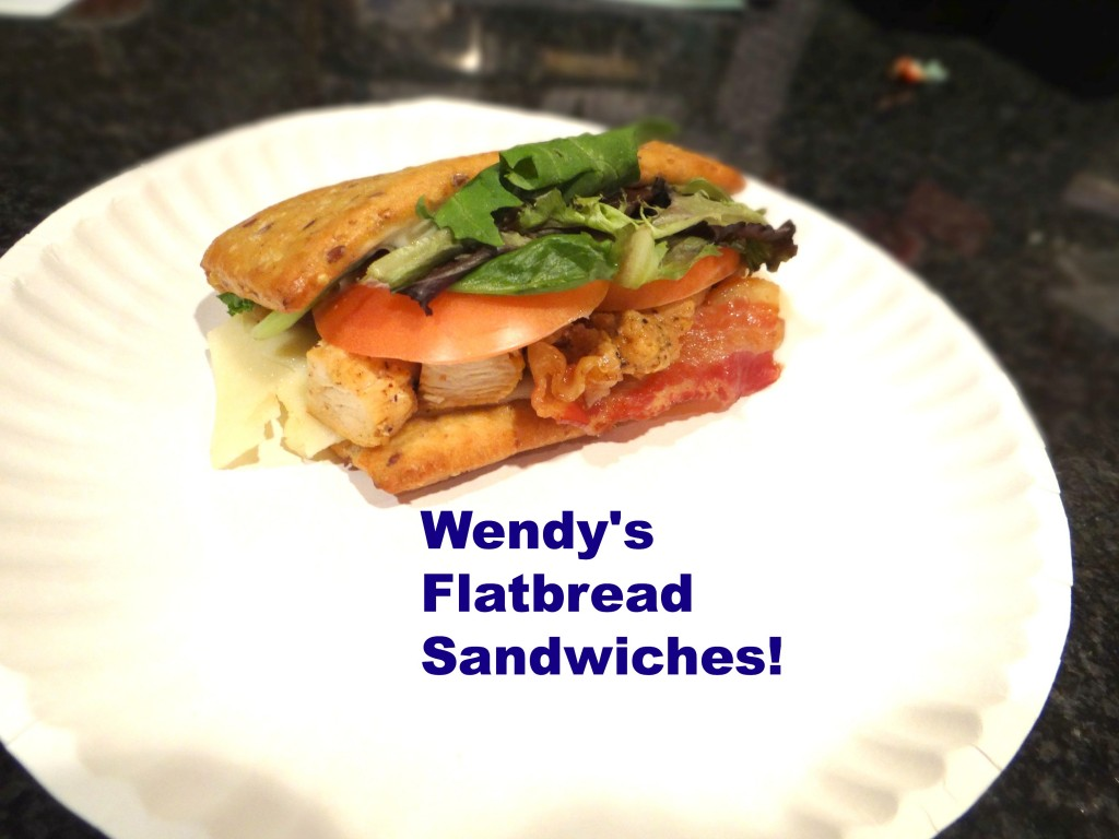 DSC04125 1024x768 Wendy's Chicken Flatbread sandwiches are AMAZING and #6SecondsFlat Sweepstakes!