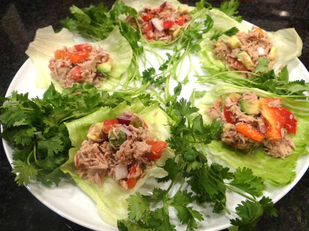 DSC04329 1024x768 Tuna Ceviche Lettuce Wraps with #OceanNaturals #cbias