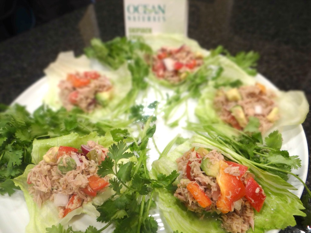 DSC04332 1024x768 Tuna Ceviche Lettuce Wraps with #OceanNaturals #cbias