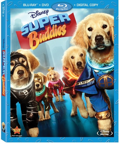 Disneys Super Buddies Now Available on DVD!