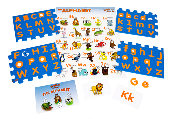 Teach My Toddler The Alphabet SKU 0014 NEW #TeachMy Educational Kits now available in Toys R Us and a #Giveaway for any set!