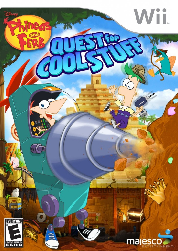 91dBq0HpmhL. SL1500  729x1024 Phineas and Ferb Quest for Cool Stuff for the Wii