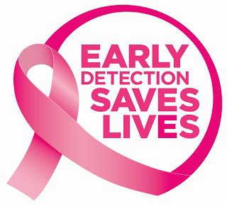 Breast Cancer Awarenes Early Detection Ribbon P&G Breast Cancer Awareness and a $50 P &G Giveaway! #PGBestDefense