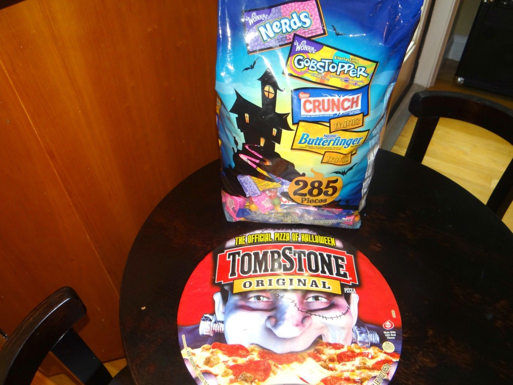DSC04657 1024x768 Spooky Halloween Recipes: Dirt Pie and Tombstone Pizza! #TrickUrTreat #cbias
