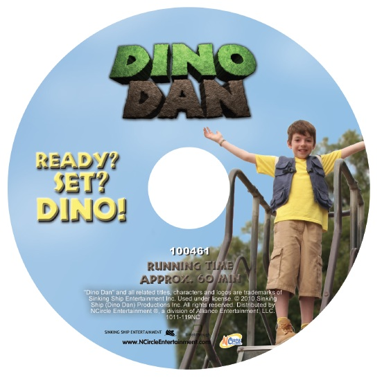 Dino Dan Disk 2 DINO DAN DVD Four Pack Review/Giveaway