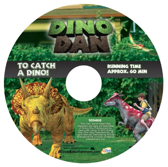 Dino Dan Disk 3 DINO DAN DVD Four Pack Review/Giveaway