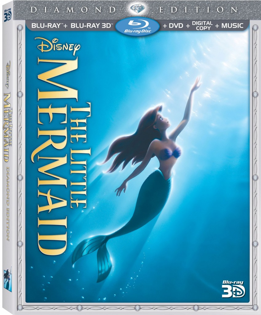 Little Mermaid DE 3D Box Art copy 849x1024 #Disney Little Mermaid Diamond Edition DVD Review/Giveaway!