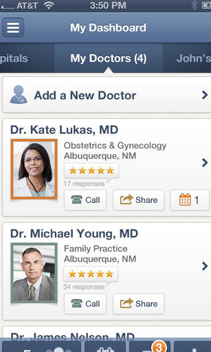Screen Shot 2013 10 16 at 9.38.52 PM Thank Goodness for the New Healthgrades App!