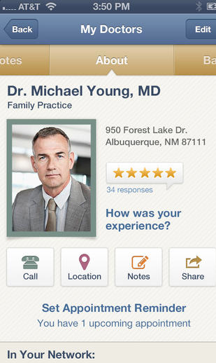 Screen Shot 2013 10 16 at 9.38.57 PM Thank Goodness for the New Healthgrades App!