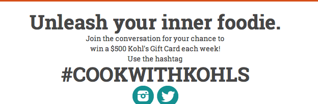 Screen Shot 2013 10 21 at 1.13.13 PM #CookWithKohls and a $25 Kohls Gift Card Giveaway!