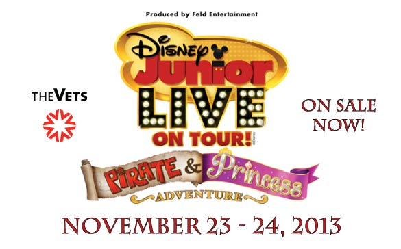 Branding DisneyLive OnSaleNow 01 Disney Junior Live On Tour! Pirate & Princess Adventure  Pair of Tickets #Giveaway #RhodeIsland