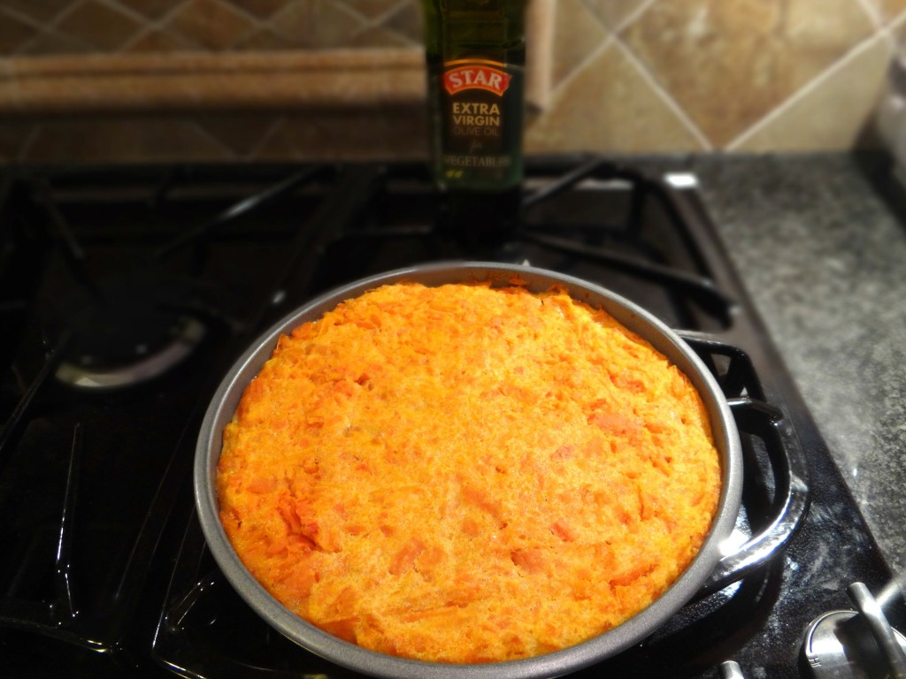 DSC05541 1024x768 Carrot Souffle Recipe for the Holiday Season using STAR Olive Oil! #STAROliveOil #cbias #shop