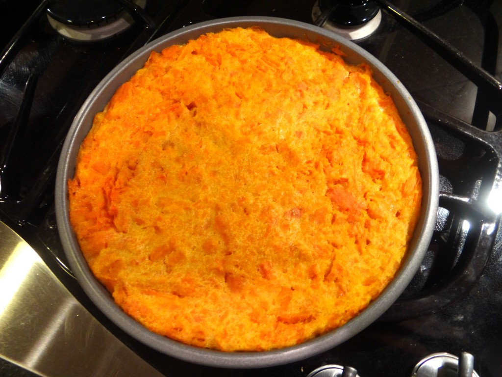 DSC05544 1024x768 Carrot Souffle Recipe for the Holiday Season using STAR Olive Oil! #STAROliveOil #cbias #shop