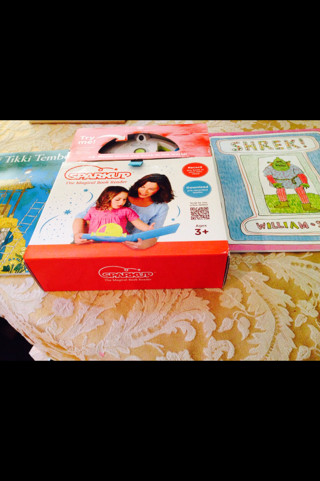 IMG 4752 SparkUp  The Magical Book Reader Review Giveaway! #MHCgiftguide