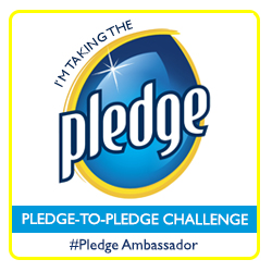 Pledge Ambassador Badge copy 2 Taking the Pledge Challenge and a Pledge FloorCare Giveaway! #MC