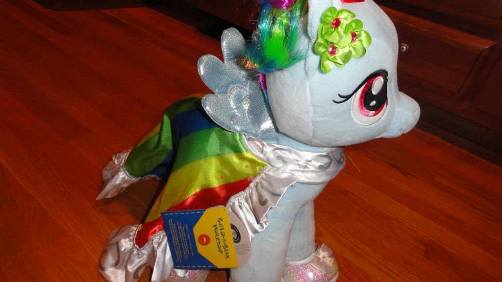 DSC09042 1024x576 Build  A  Bear My Little Pony Review and a $25 Build a Bear Gift Card Giveaway! #MHCgiftguide