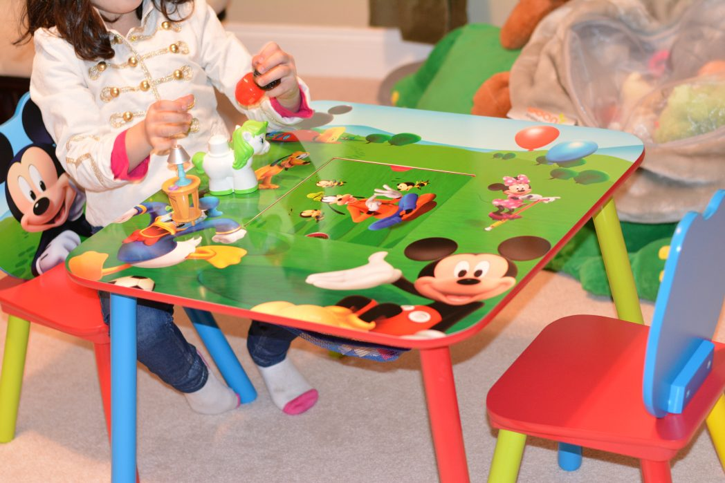 Delta Children Mickey Mouse Table And Chair Set