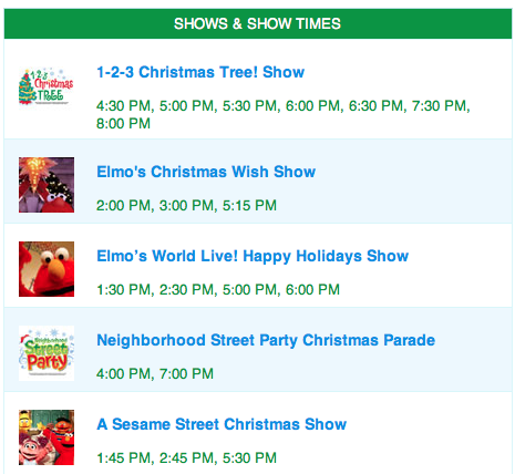 Screen Shot 2013 12 14 at 8.45.31 PM Go soon! A Very Furry Christmas Ending soon at Sesame Place! #SesamePlace