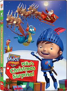 mikes christmas NCircle Yo Gabba Gabba, Mike the Knight, and The Snowman and the Snowdog Holiday DVD Review/Giveaway!