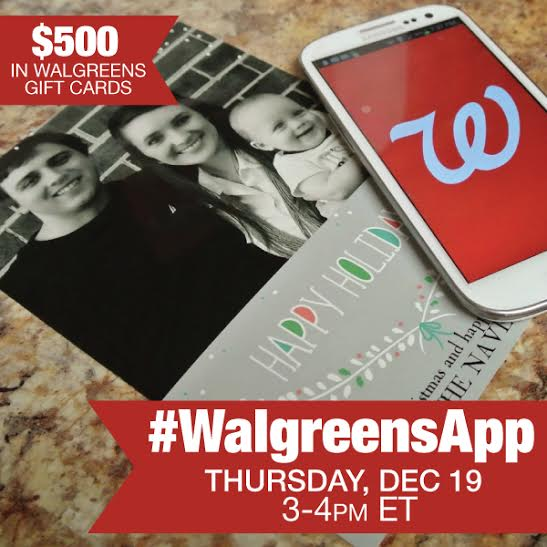 unnamed Join me at the #WalgreensApp Twitter Party 12/19 3 4 PM EST!