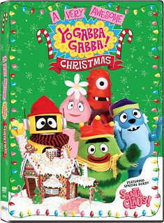 yogabbagabba christmas NCircle Yo Gabba Gabba, Mike the Knight, and The Snowman and the Snowdog Holiday DVD Review/Giveaway!