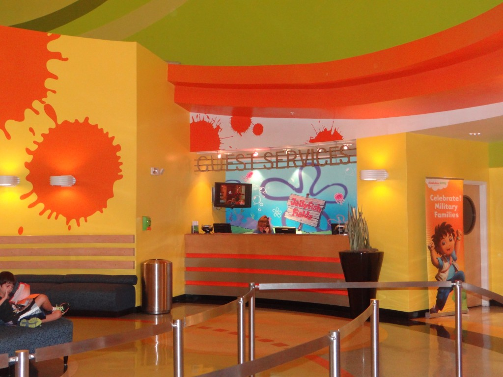 DSC05395 1024x768 Nickelodeon Suites Hotel in Orlando, Florida!