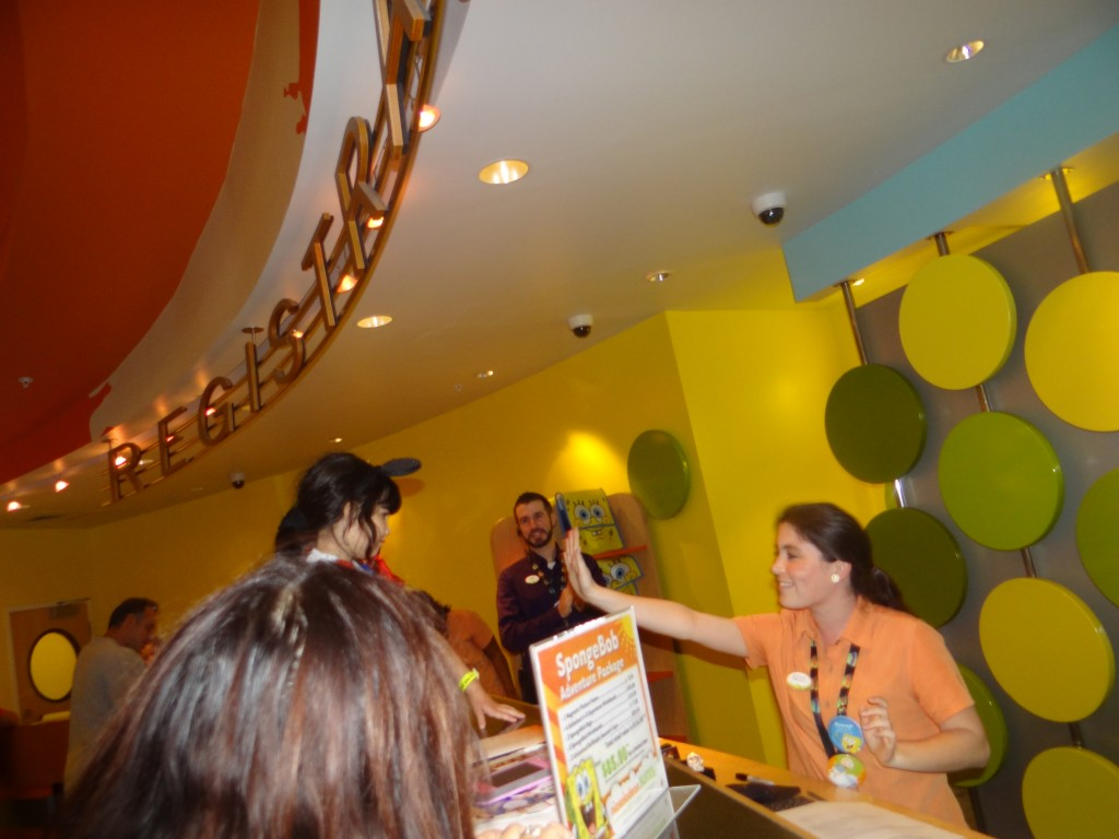 DSC05402 1024x768 Nickelodeon Suites Hotel in Orlando, Florida!