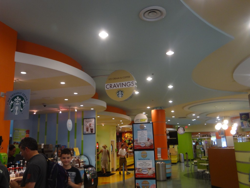 DSC05411 1024x768 Nickelodeon Suites Hotel in Orlando, Florida!