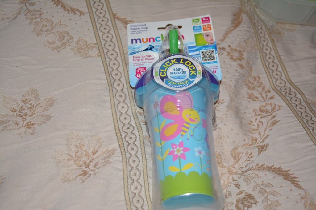 Munchkin sippy cup