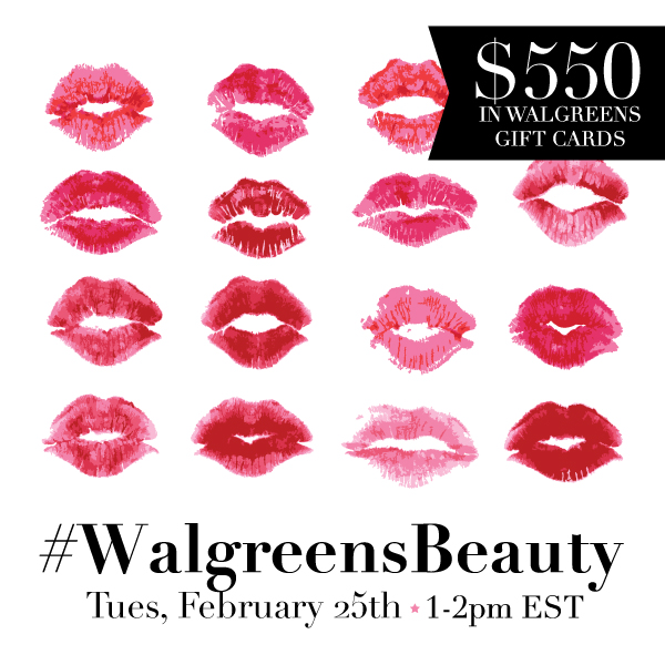 WalgreensBeauty Twitter Party 2 25 1 copy Join me for the #WalgreensBeauty Twitter Party Feb 25, 2014 1 2 pm EST!