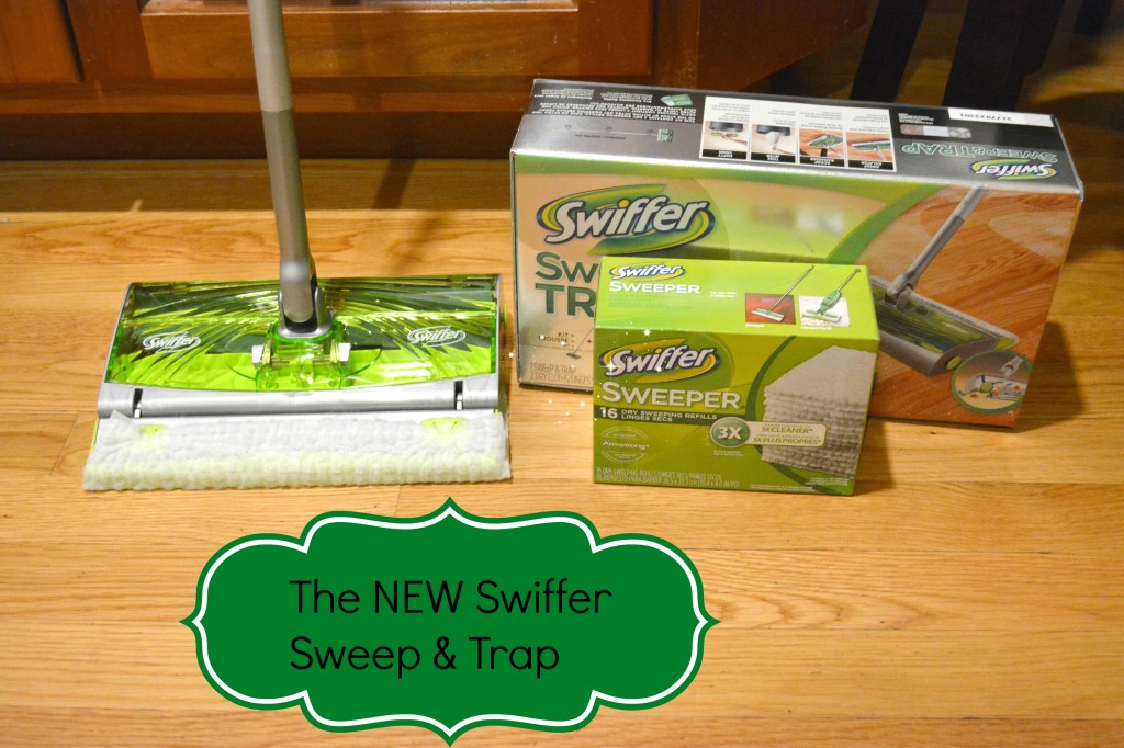 DSC 08371 1024x682 Getting the house clean with the Swiffer Sweep & Trap #NewFromSwiffer