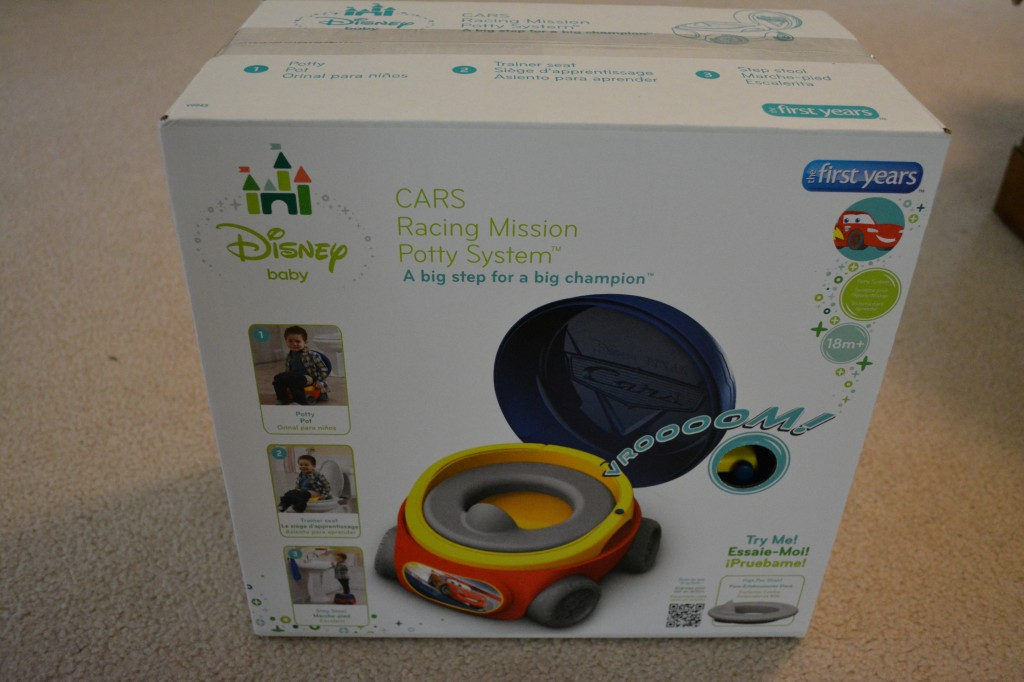 DSC 09051 1024x682 CARS Racing Mission Potty System Review and Giveaway!