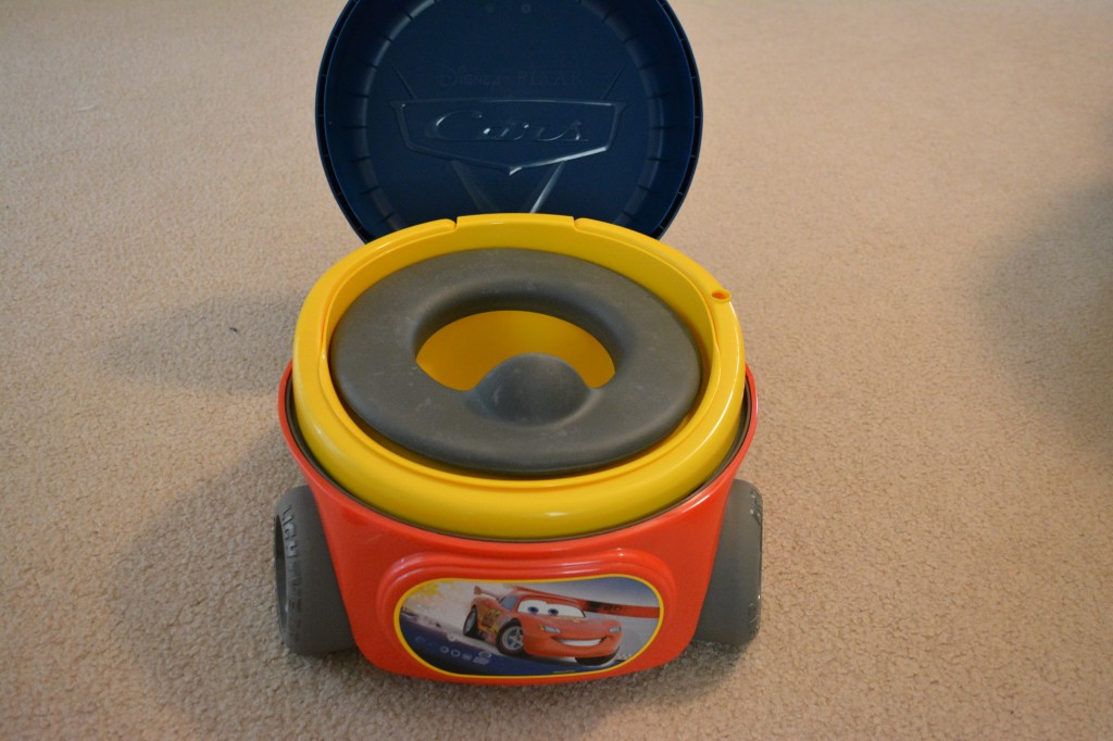 DSC 0906 1024x682 CARS Racing Mission Potty System Review and Giveaway!