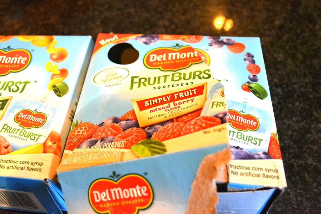 DSC 0917 1024x682 Del Monte® Fruit Burst® Squeezers and Mango Pineapple Fruit Cup® Snacks Review and $25 Walmart GC Giveaway!