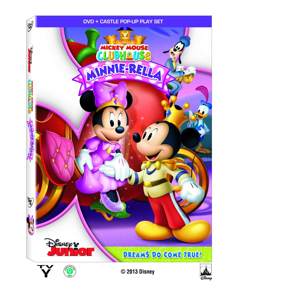 MMCH Minnie Rella DVD BoxArt copy 1024x995 Mickey Mouse Clubhouse Minnie Rella! #Disney Junior!