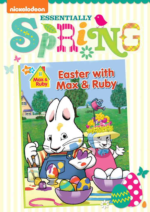 MR Easter ES DVD Front Oslv lo1 Nickelodeon and their fabulous Springtime DVD collections!